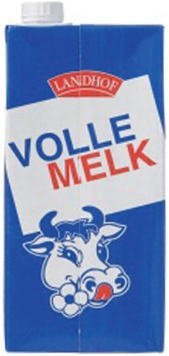 MELK LANDHOF VOL HOUDBAAR 1 LITER -KOUDE DRANKEN 192409-2