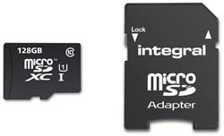 GEHEUGENKAART INTEGRAL MICRO SDXC 128GB -GEHEUGENKAARTEN INMSDX128G10-90U1 CL10
