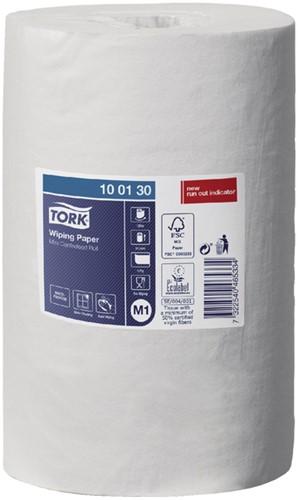 VULLING TORK M1 MINI CENTERFEED 1LAAGS -SANITAIR PAPIERWAREN 100130 21,5CMX120M 100130