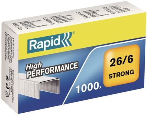 Nieten rapid 26/6 gegalv strong 1000st -N4861400 24861400