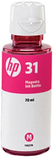 NAVULINKT HP 31 1VU27AE ROOD -HP INKJET 2893840 Tonercartri