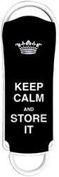 USB-STICK INTEGRAL FD 16GB KEEP CALM -USB STICKS INFD16GBXPRKCSIBK ZWART