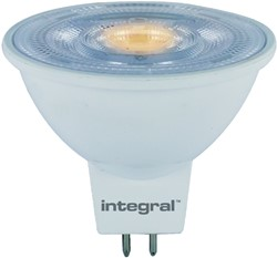 LEDLAMP INTEGRAL MR16 4.6W 2700K -LAMPEN EN VERLICHTING ILMR16DC037 DIMBAAR WARM WIT