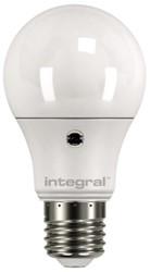 LEDLAMP INTEGRAL E27 6.6W 5000K -LAMPEN EN VERLICHTING ILGLSE27SF045 DAG/NACHT SENSOR