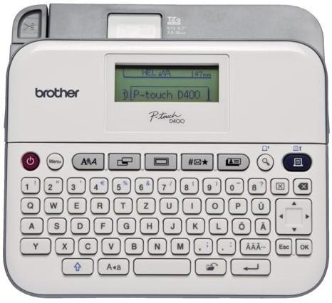 LABELPRINTER BROTHER PT-D400 -LABELPRINTERS PTD400UR1