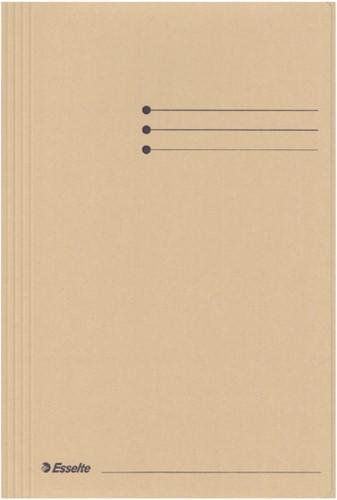 Dossiermap esselte manilla 3klep folio -V032304 1032304 Gems