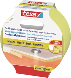 AFPLAKTAPE TESA 38MMX25M PRECISION -PLAKBAND EN PLAKBANDHOUDERS 56271-00000-01 INDOOR
