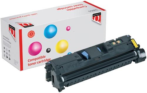 TONERCARTRIDGE QUANTORE HP Q3962A 4K -QUANTORE TONER K12001PR GEEL