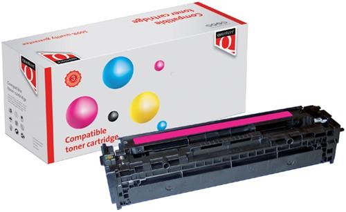 TONERCARTRIDGE QUANTORE HP CB543A 1.4K -QUANTORE TONER K15106PR ROOD