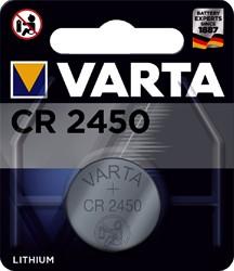 BATTERIJ VARTA CR2450 LITHIUM -BATTERIJEN KNOOPPCEL 6450101401