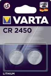 BATTERIJ VARTA CR2450 3V LITHIUM -BATTERIJEN KNOOPPCEL 6450101402