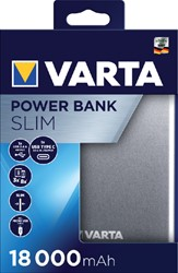 POWERPACK VARTA 18000MAH ZILVER -TABLET EN PHONE LADERS EN ACC. 57967101111