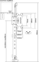 MONITORARM NEWSTAR CH100 CUBICAL HANGER -FLATSCREENSTANDAARDEN EN ARMEN FPMA-CH100BLACK ZWART-2