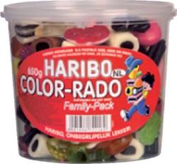 COLORADO HARIBO 650GR WINE GUM + -ETENSWAREN 36392 ENGELSE DROP