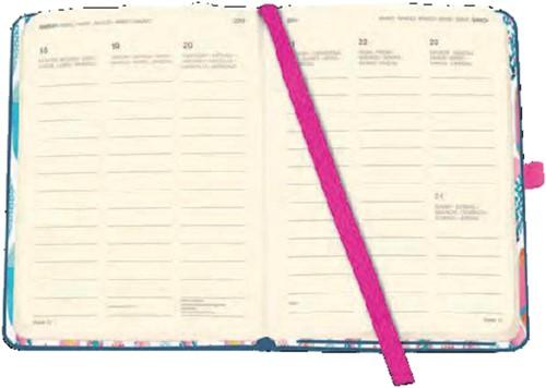 AGENDA 2019 TENEUES COOL 9X14CM -AGENDA'S BTC 96259 FUCHSIA/CACTUS-2
