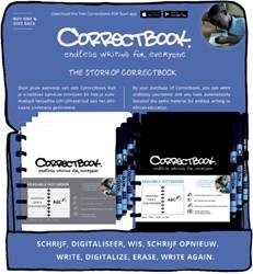 CORRECTBOOK A5 COUNTERDISPLAY -SCHOOL ARTIKELEN 38