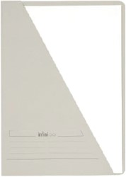 INSTEEKMAP JALEMA INFINIO A4 GRIJS -L-MAPPEN 3711107