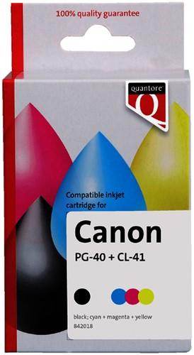 INKCARTRIDGE QUANTORE CAN PG-40 CL-41 -QUANTORE INKJET K10282PR ZWART KLEUR