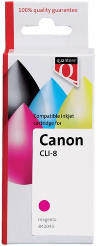 INKCARTRIDGE QUANTORE CAN CLI-8 + CHIP -QUANTORE INKJET K20371PR ROOD