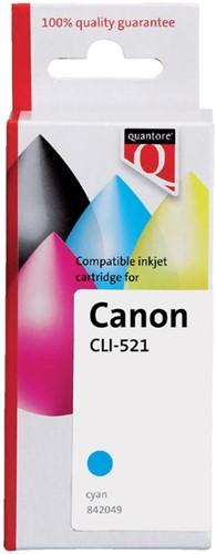INKCARTRIDGE QUANTORE CAN CLI-521 + -QUANTORE INKJET K20376PR CHIP BLAUW