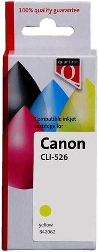 INKCARTRIDGE QUANTORE CAN CLI-526 GEEL -QUANTORE INKJET K20383PR Cl-526 geel