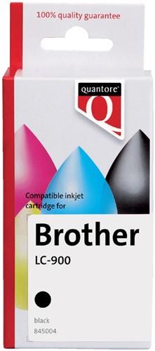 INKCARTRIDGE QUANTORE BRO LC-900 ZWART -QUANTORE INKJET K12262PR Inkcartridge proprint bro lc-900