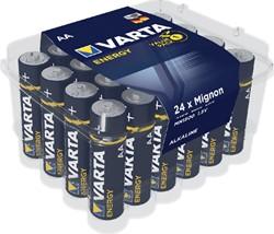 BATTERIJ VARTA ENERGY AA 24 PACK -BATTERIJEN 4106229224