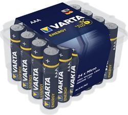 BATTERIJ VARTA ENERGY AAA 24 PACK -BATTERIJEN 4103229224