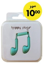 HEADSET HAMA HAPPY PLUGS EARBUD IN EAR -AUDIO HOOFDTELEFOONS 16144 KOBALT