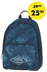RUGZAK BLUE LEAVES ALLOVER -SCHOOL ARTIKELEN 162ONE702.75P