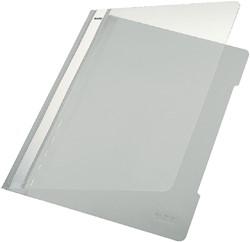 SNELHECHTER LEITZ 4191 A4 PVC GRIJS -SNELHECHTMAPPEN 41910085 SNELHECHTMAPPEN