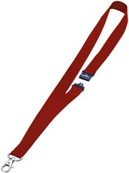 SLEUTELHANGER DURABLE KEYCORD ROOD -AFROLLERS EN BADGEKOORDEN 813703 SLEUTELHANGER DURABLE KEYCORD ROOD