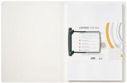 CLIPMAP JALEMA AVANTI A4 30MM WIT/TR -MAPPEN MET HECHTMECHANIEK 1401030 CLIPMAP JALEMA LUCIDO A4