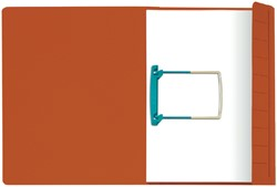 CLIPEXMAP JALEMA SECOLOR A4 25MM ROOD -MAPPEN MET HECHTMECHANIEK 3104115 CLIPEXMAP JALEMA SECOLOR A4 ROOD