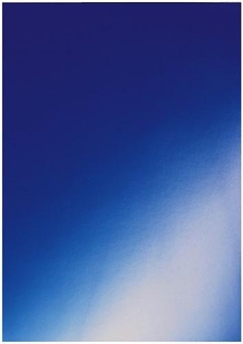 VOORBLAD GBC A4 KARTON HIGLOSS 250GR -VOORBLADEN OMSLAGEN CE020020 BLAUW