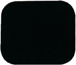 MUISMAT QUANTORE 230X190X6MM ZWART -HUISMERK COMPUTERTOEBEHOREN MP-8 BLACK MUISMAT QUANTORE 23X19CM ZWART