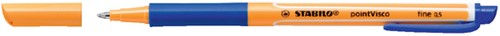 ROLLERPEN STABILO POINTVISCO 1099/41 -ROLLERPENNEN WEGWERP 1099/41 BLAUW