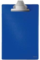 KLEMBORD ESSELTE 36X22CM PVC BLAUW -KLEMBORDEN 27355 BLAUW