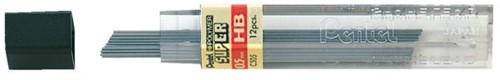 POTLOODSTIFT PENTEL 0.5MM HB -POTLOODSTIFTEN 000712 Potloodstift pentel 0.5mm zwart per koke