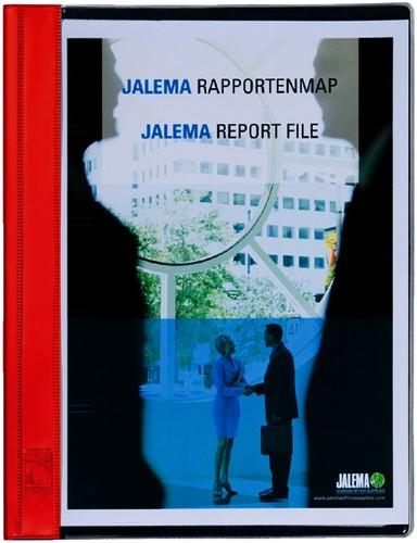 RAPPORTENMAP JALEMASTRIP EN DEKPLAATJE -SNELHECHTMAPPEN 1021415 ROOD