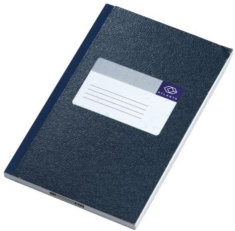 Notitieboek atlanta 165x105mm 128blz -K202236000 2202236000 Blauw