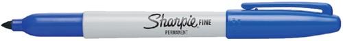 VILTSTIFT SHARPIE ROND 1.0MM F BLAUW -VILTSTIFTEN S0810950 Viltstift sharpie perm fine rond 1.0mm b