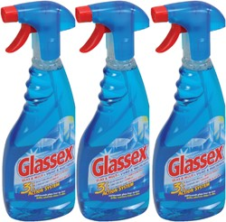 GLANSSPRAY GLASSEX 750ML -REINIGINGSMIDDELEN 53425