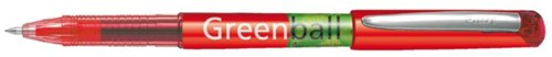 ROLLERPEN PILOT GREENBALL BEGREEN -ROLLERPENNEN WEGWERP 4902505345241 0.35MM ROOD