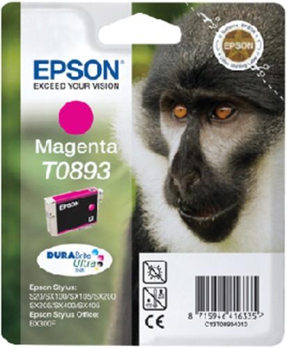 INKCARTRIDGE EPSON T089340 ROOD -EPSON INKJET 1693579