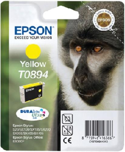 INKCARTRIDGE EPSON T089440 GEEL -EPSON INKJET 1693580