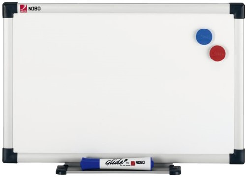 WHITEBOARD NOBO CLASSIC STAAL 90X60CM -WHITEBOARDEN 1905217 RETAIL