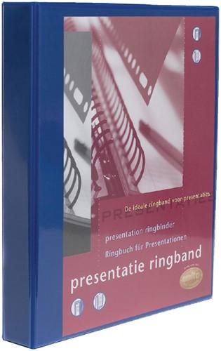 PRESENTATIE RINGBAND MULTO 23R A4 32MM -PANORAMA RINGBANDEN 3007232032 BLAUW