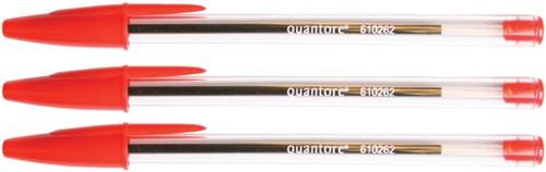 Balpen quantore stick rood -Hla35-2 GLA35-2