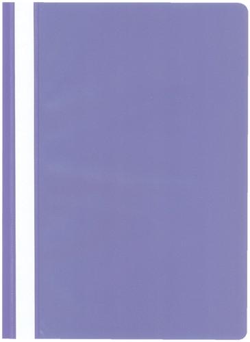 SNELHECHTER KANGARO A4 PP VIOLET -SNELHECHTMAPPEN K-20546